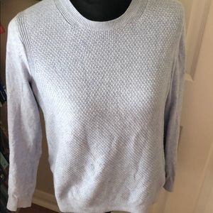Loft pale blue sweater